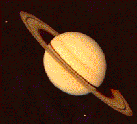 This is about the size of the image of Saturn in my telescope.
