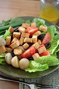 You can even add tempeh to a salad.