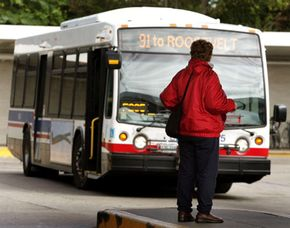 Robbing a bank? Try using public transit to get away. It's inexpensive and it's good for the environment.