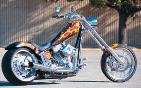 The Texas Chopper comes with a 6-speed gearbox. See more motorcycle pictures.