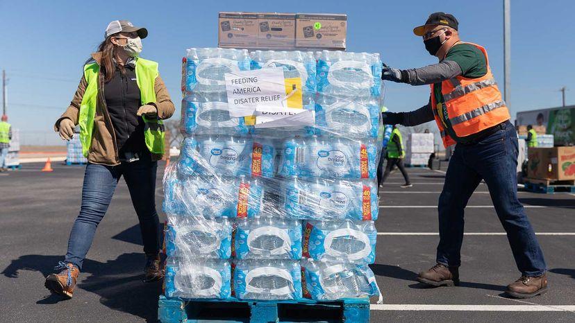 water distribution Texas