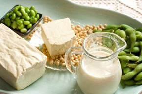 Think of TVP as man-made soy that's full of protein. Learn more about food in these food pyramid pictures.
