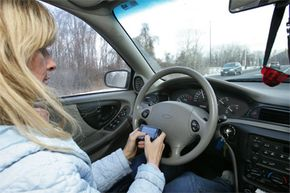 Image Gallery: Car Safety Is there proof that texting while driving is more dangerous than drunk driving? See more car safety pictures.