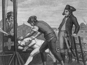 Robespierre, heading to the guillotine, was influenced by Rousseau.