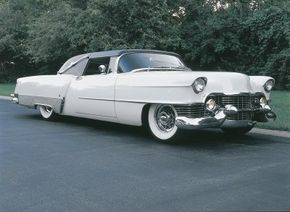 The Parisienne, a custom Cadillac built in 1954, was restored in 1993 and is 19-1/2 feet long. See more custom car pictures.