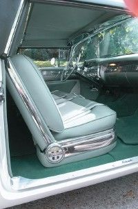 In 1993, English wool carpeting replaced the old upholstery in the Parisienne.