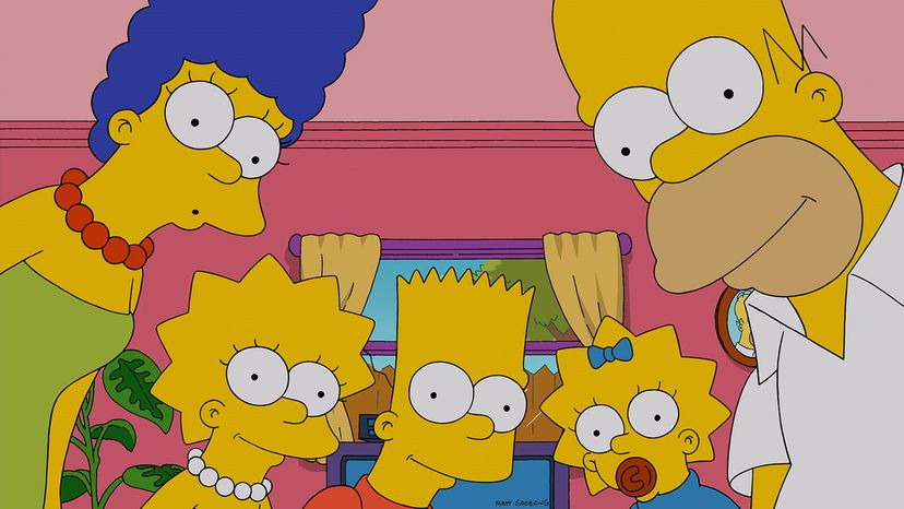 """""""The Simpsons"""" has set several records for its longevity. Fox/Getty Images"""