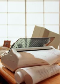 Direct thermal fax machines can feed out faxes that immediately curl up, making them frustrating to work with.