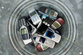 Old cell phones can be recycled and given to soldiers or people in need.