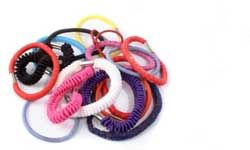 Leave the hair elastics to the under-13 set.