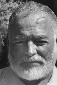 Artists like author Ernest Hemingway, who committed suicide in 1961, reveal the fine line between mental illness and creative genius.