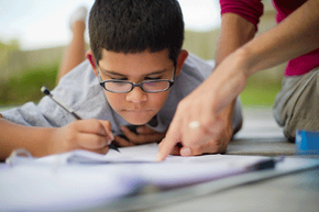 Your 8-year-old will likely need some homework help -- but how much?