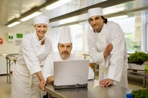 Research chefs do it all – taste food, formulate recipes, test ingredients and tackle other culinary challenges.