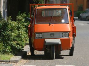 Across the world, three-wheelers are popular as light-duty utility vehicles.