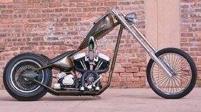 A reliable, 80-cubic-inch Harley Davidson Evo V-twin powers the unique Thugster. See more motorcycle pictures.