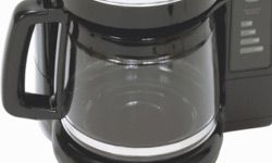 Smaller coffeemakers make about four cups.