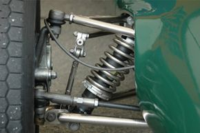 Image Gallery: Car Safety One of the most noticeable signs of tie rods going bad is a knocking sound coming from the front end of the vehicle when you turn into a parking space. See more car safety pictures.