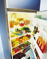 Keep your fridge and pantry stocked, so you don't have to make countless trips to the store.