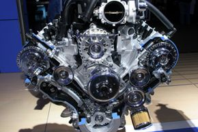 Image Gallery: Car Engines The timing belt keeps those pistons and valves going. See more pictures of car engines.