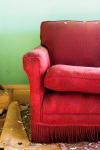 Tinted windows can help protect your furniture and valuables from getting damaged like this sofa.