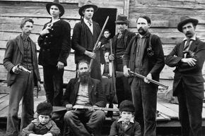 Matoaka hopes to connect to the Hatfield-McCoy Trail System, named for the famous feuding family from the area. The Hatfields are pictured above.