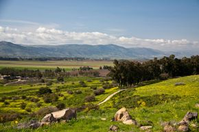Golan Heights is known for stunning scenery.