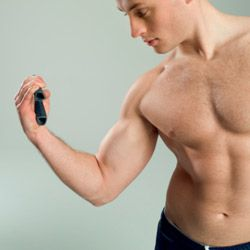 It may not be the first thing you'd consider but your grip has a major impact on your ability to strengthen your arms.