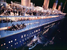 scene from James Cameron's Titanic