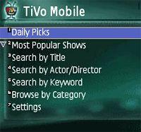 The Amazon Unbox function on TiV