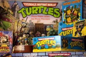 Classic TMNT toys have become highly collectible pop-culture items.