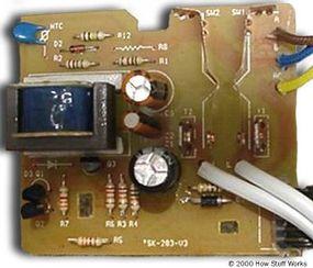 Toaster circuit board