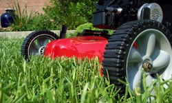 Keep your lawn mower looking shiny and new.