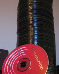 A CD can hold a lot of memories.