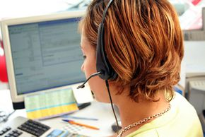Toll-free numbers are often routed into a central call center.