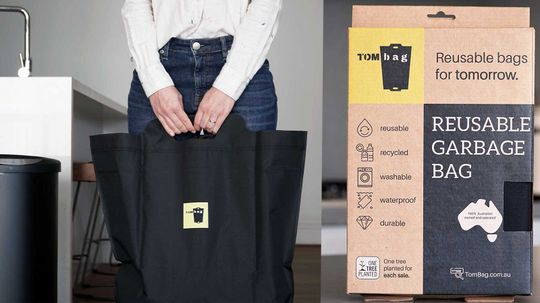 Reusable Garbage Bags? You Bet!