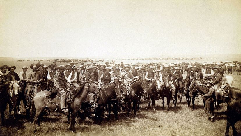 cowboys in Wyoming
