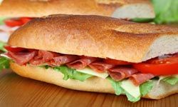 Beefsteak tomatoes fit nicely in sandwiches.