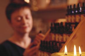 Some women choose to concoct a signature scent with essential oils.