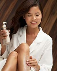 The legs, arms and sides are most prone to dry skin. See more pictures of getting beautiful skin.