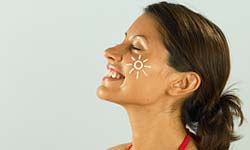 Choose a daily facial moisturizer with sunscreen.