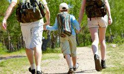 Everyone loves a hike.