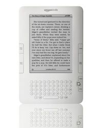 The Kindle 2 has updated firmware that extends its battery life by 85 percent.