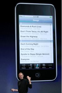 Apple scored a major commercial hit with the iPod Touch, which the U.S. military is utilizing on some missions.