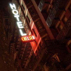 The Hotel Chelsea, home to famed celebrities, starving artists and a collection of both -- of the more spectral variety.