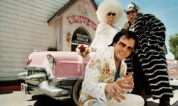 What's a Vegas vacation without Elvis?