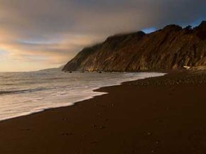 The Lost Coast's untouched beauty.