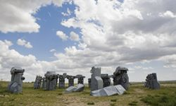 Carhenge! Where the Chevys live, and they do live well.