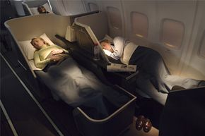 This looks like a relaxing way to fly, doesn't it?