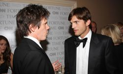 Number one Twitterer Ashton Kutcher gives actor Kevin Bacon some pointers for gaining new followers in return for some investment advice.