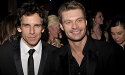 Did top Twitterer Ryan Seacrestsend outa tweetabout Ben Stiller's hair shortly after this photo was taken?